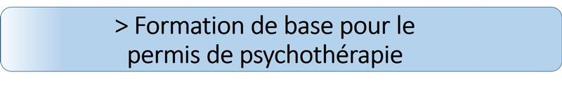 formation en psychothérapie